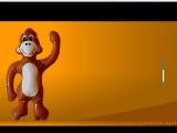 صفع القرد